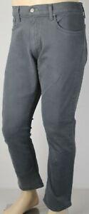 Polo Ralph Lauren Varick Slim Straight Grey Denim Jeans NWT
