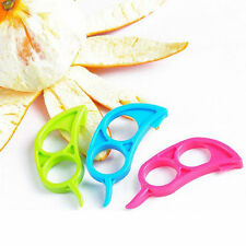 1pcs Citrus Orange Peeler Slicer Cutter Plastic Lemon Fruit Opener Kitchen Tool