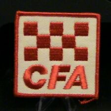 Patch: CFA (Red on White Background)