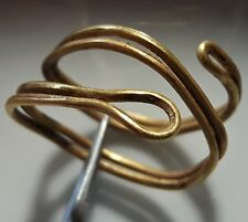 CELTIC  PURE GOLD ** SNAKE RING ** AMAZING RING ** RARE 800 BC  !!