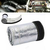 Metallic Heat Shield Sleeve 3ft 2000° Spark Plug Wire Heat Protector Insulation