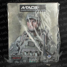 Cal-Tek US A-TACS Camo Advanced Tactical Concealment System Operator 1/6 Figure