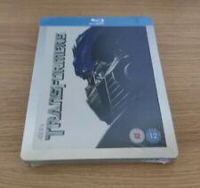 Transformers Blu-ray Steelbook - Play.com Exclusive - Embossed - OOP - V Rare!