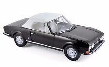 Peugeot 504 Cabriolet 1971 - Black - 1/18  NOREV