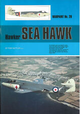 WARPAINT 29 HAWKER SEA HAWK ROYAL NAVY FAA DUTCH KON.MARINE MARINEFLIEGER INDIA