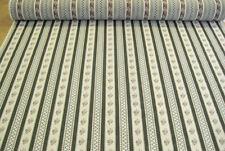 Möbelstoff Polsterstoff Biedermeier Streifen grün für antike Stühle Bekleidung