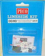 Peco 00 LK-51 Level Crossing Barriers. OO Model Railways