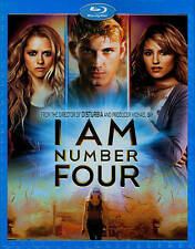 I Am Number Four (Blu-ray Disc, 2011)Brand New With Slipcover