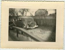 PHOTO ANCIENNE - VOITURE FLOU RATÉE CURIOSITÉ VITESSE - CAR - Vintage Snapshot