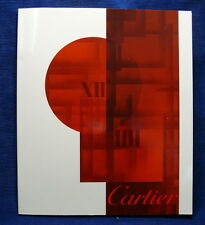 Genuine Cartier Watch Timepiece Catalogue Reference Book Collecting Publication