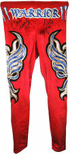WWE CHAVO GUERRERO RING WORN TIGHTS SIGNED WITH PROOF 7