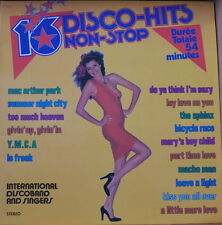 INTERNATIONAL DISCO BAND 16 DISCO-HITS NON STOP VOL.8 SEXY COVER FRENCH LP