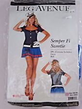 Size S/M Women's Red White Blue Marine Cosplay Halloween Sexy Costume Party