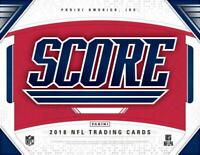 2018 Score Red Football Inserts (All Versions Included) Parallels Pick From List