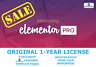 6 Exclusive Templates | Elementor PRO Original 1-Year License WordPress | SALE