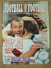 FOOTBALL WORLD CUP 1998 FRANCE - SUN MAGAZINE PART 1 - TEAM-BY-TEAM GUIDE