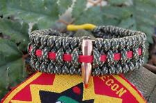 Marine Corps HOG Tooth Sniper Digital Camo Paracord Survival Bracelet & Shackle