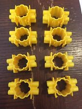 Quercetti Skyrail Roller Coaster ~ Lot of 8 Replacement Track Support Connectors