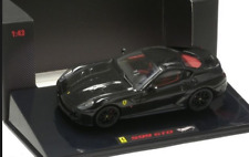 Ferrari 599 GTO Black 2010 T6932 1/43 Hot Wheels Elite