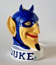 """DUKE BLUE DEVILS MASCOT HEAD RESIN CHRISTMAS ORNAMENT 4"""""""