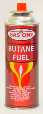 BUTANE FUEL 8 ounce CARTRIDGE canister for camping stove burner torch GAS 1 ONE