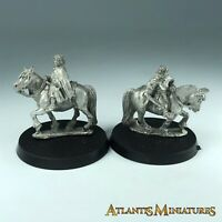 Metal Sam and Frodo Mounted - Warhammer / Lord of the Rings CC268