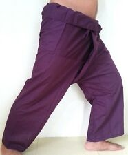 YOGA Thai Fisherman Pants Trousers Long Cotton Wrap For Men & Women Unisex