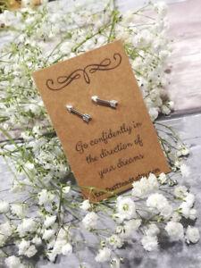 Arrow Stud Earrings, Arrow Earrings, Arrow Gift, Arrow Jewelry, Travel Earrings