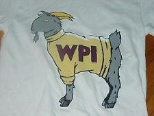Wpi Worcester Polytechnic Institute Goats T-Shirt Nwt New sz. Xsmall Xs