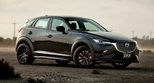 mazda cx3  CX 3 front + rear  lips  aero body kit painted