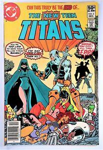 New Teen Titans #2 NEWSSTAND (DC Comics, 1980) 1st First Appearance Deathstroke