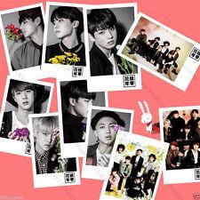 10PC BTS Photo LOMO Card In Bloom Bangtan Boys Picture Suga Postcard Photocard