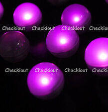48 LED Pink Mini Fairy Lights Waterproof Floating Ball Party Wedding Decorate