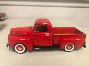 1/18 ROAD LEGENDS 1948 FORD F-100 PICKUP TRUCK RED NICE DETAIL