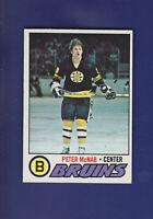 Peter McNab 1977-78 TOPPS Hockey #18 (NM)