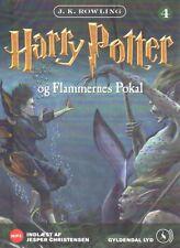 2 MP3 CD Harry Potter DÄNISCH Hörbuch - Og Flammernes Pokal, NEU