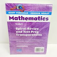 Mathematics Spiral Review and Test Prep Transparencies Grade 3 by Scott Foresman