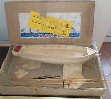 Ancienne maquette 1950 Les Bateaux NAVIG La Toulonnaise *