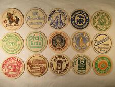 Bierdeckel Brauerei Konvolut Bayern alt 15 Stück