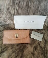 Authentic Preloved Christian Dior Long Wallet