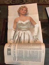 Esquire Magazine~1956~Marilyn Monroe~Hepburn