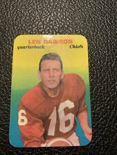 Len Dawson 1970 Topps Glossy 27/33 Well Centered Excellent Condition RARE!