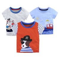 Kids baby boys summer clothes boys summer Tee cotton short sleeve Tee shirt