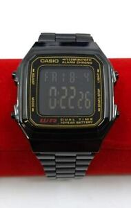 Casio Classic Digital Watch A178WGA Black Design Unisex Retro Vintage Melbourne
