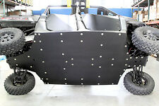 Polaris Ranger 900 Crew with rockers UHMW skid plate SSS Off Road