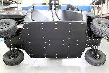 Polaris Ranger 900 Crew with rockers UHMW skid plate underbody SSS Off Road