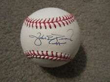Jake Peavy Autographed Major League Baseball MLB Authentication Giants Padres