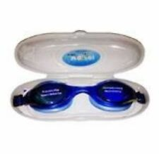 Swimming Goggles with Anti Fog/UV Protection w/ case - BLUE