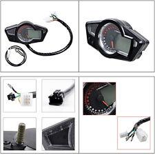 Motorcycle LCD Digital Odometer Speedometer Tachometer Multi Function 15000 RPM