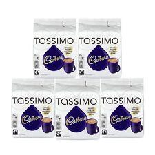 Tassimo Cadbury Hot Chocolate 240g 5 Pack 40 Discs, 40 Drinks
